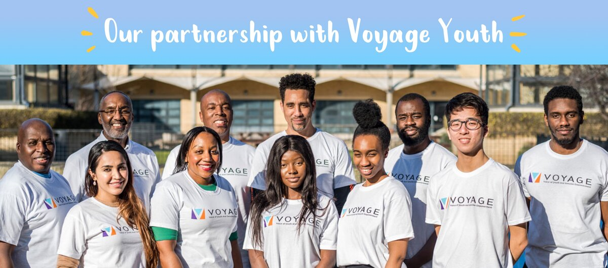 Partnership with Voyage Youth