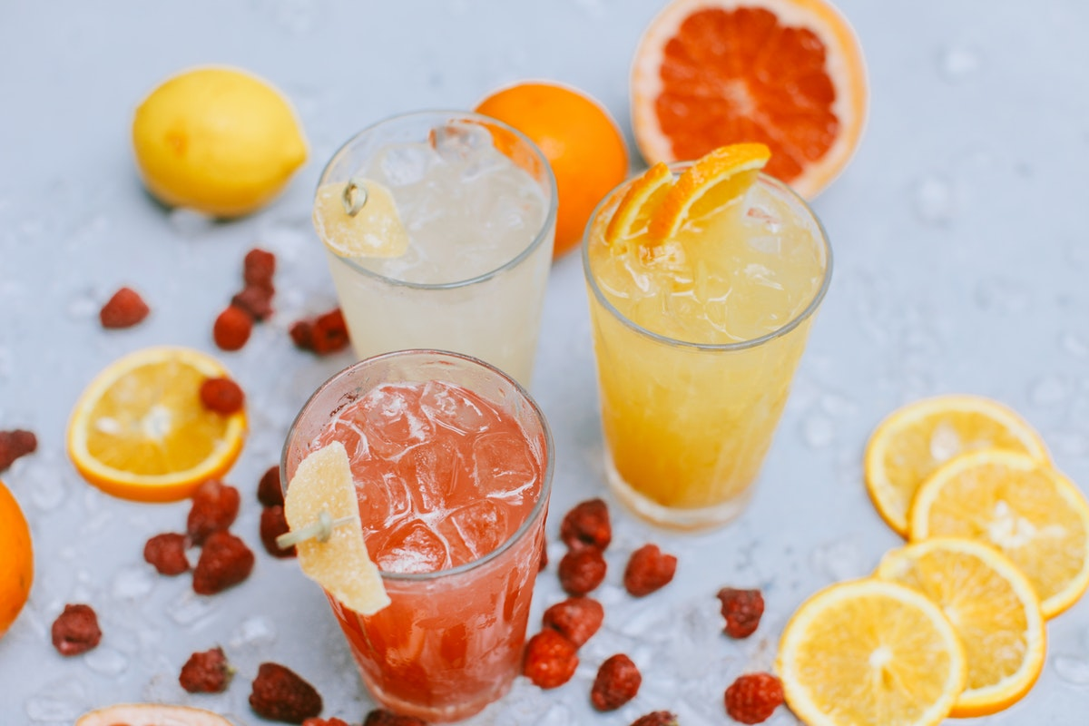 Serve ice-cold drinks at your summer BBQ party - perfect for keeping cool on a hot day.