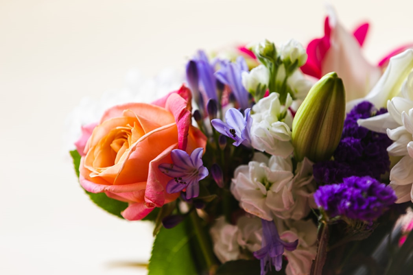 Flowers are the perfect engagement gift